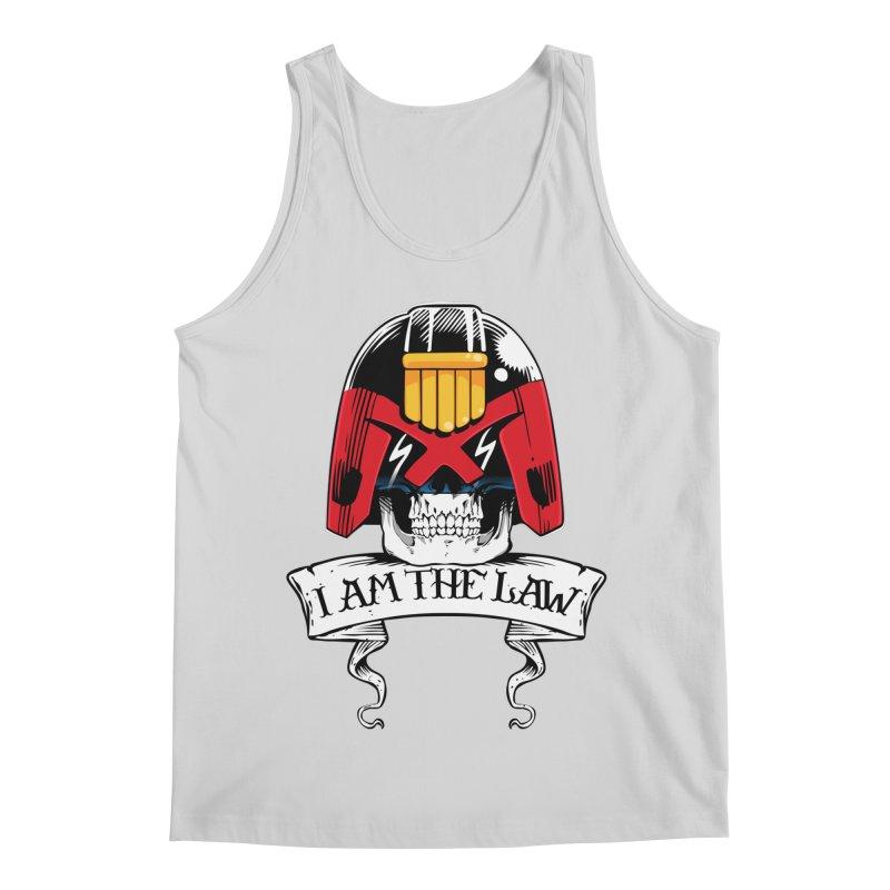 I AM THE LAW Men's Regular Tank by D4N13L design & stuff