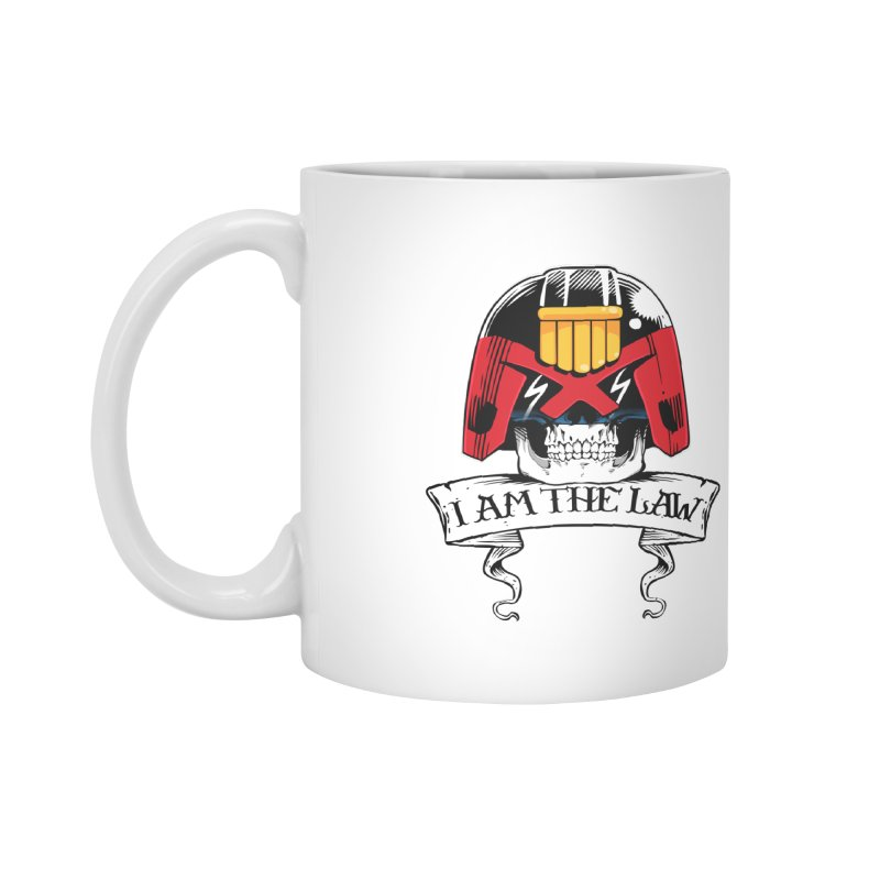 I AM THE LAW Accessories Mug by D4N13L design & stuff