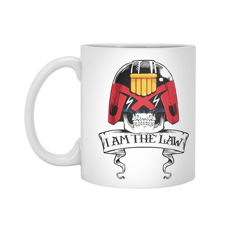 I AM THE LAW Accessories Standard Mug by D4N13L design & stuff