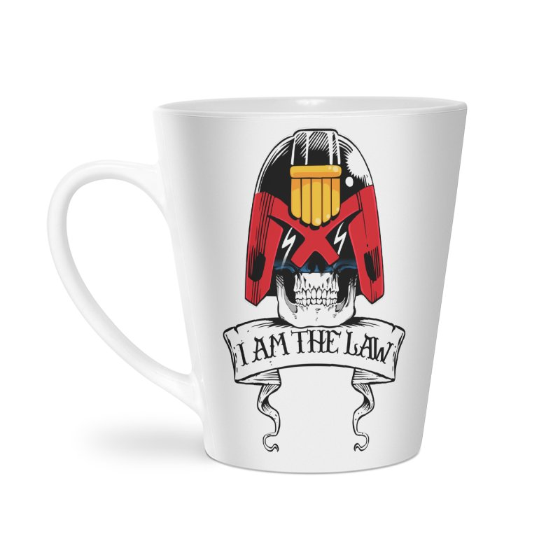 I AM THE LAW Accessories Latte Mug by D4N13L design & stuff