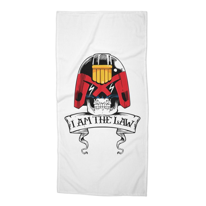 I AM THE LAW Accessories Beach Towel by D4N13L design & stuff