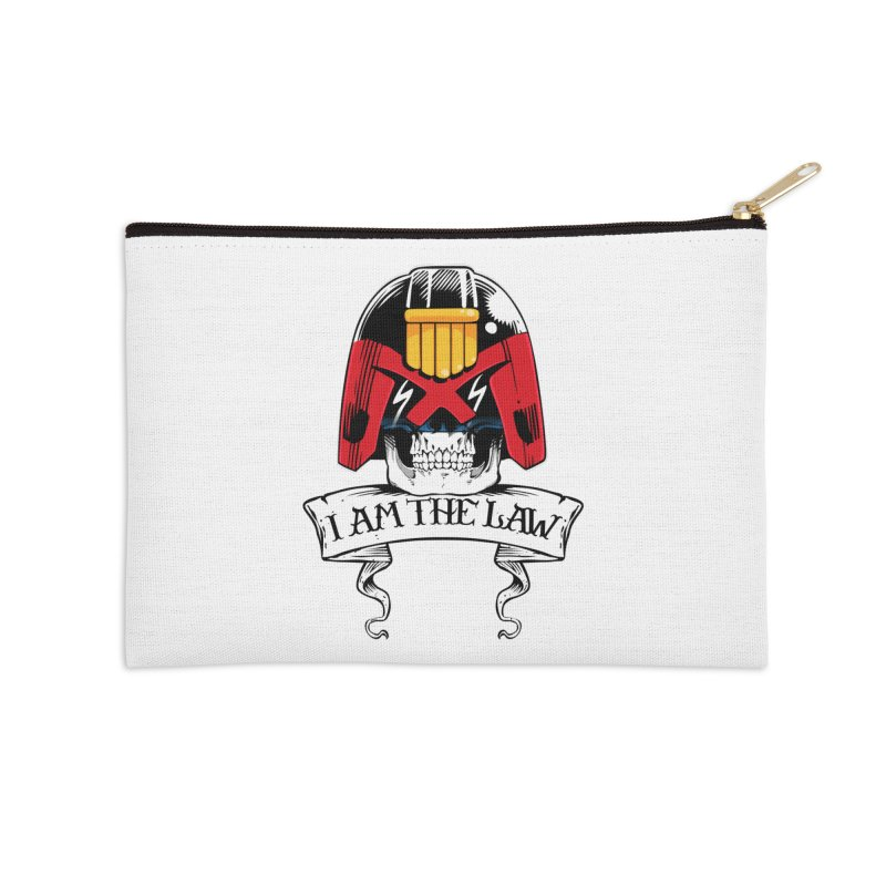 I AM THE LAW Accessories Zip Pouch by D4N13L design & stuff