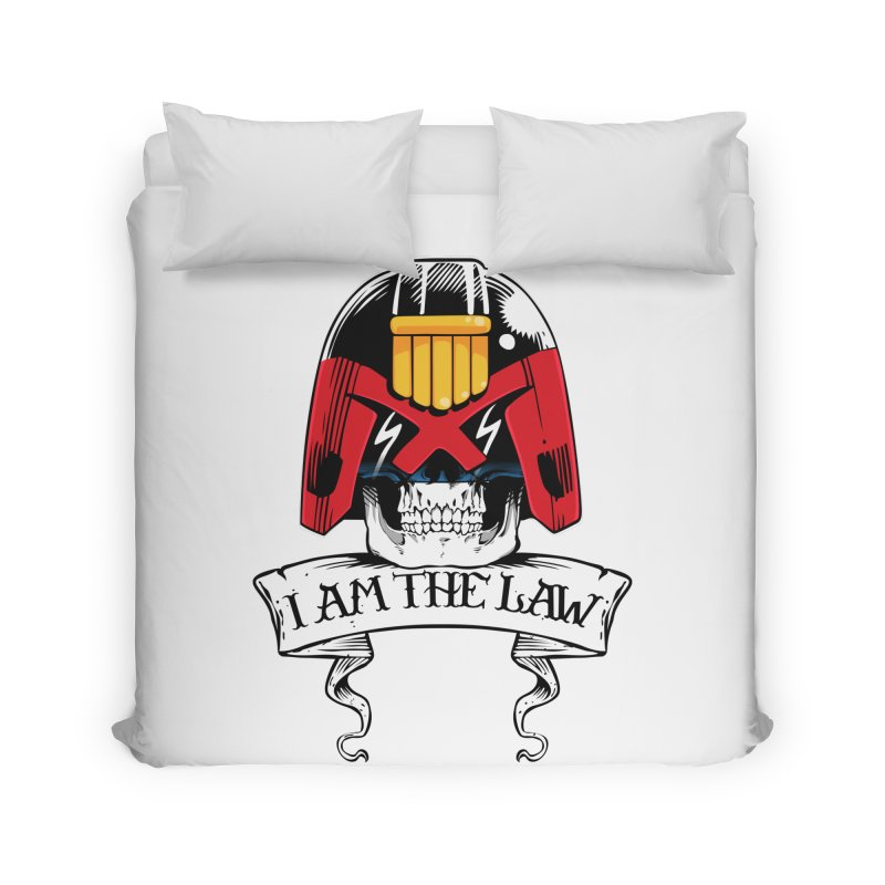 I AM THE LAW Home Duvet by D4N13L design & stuff