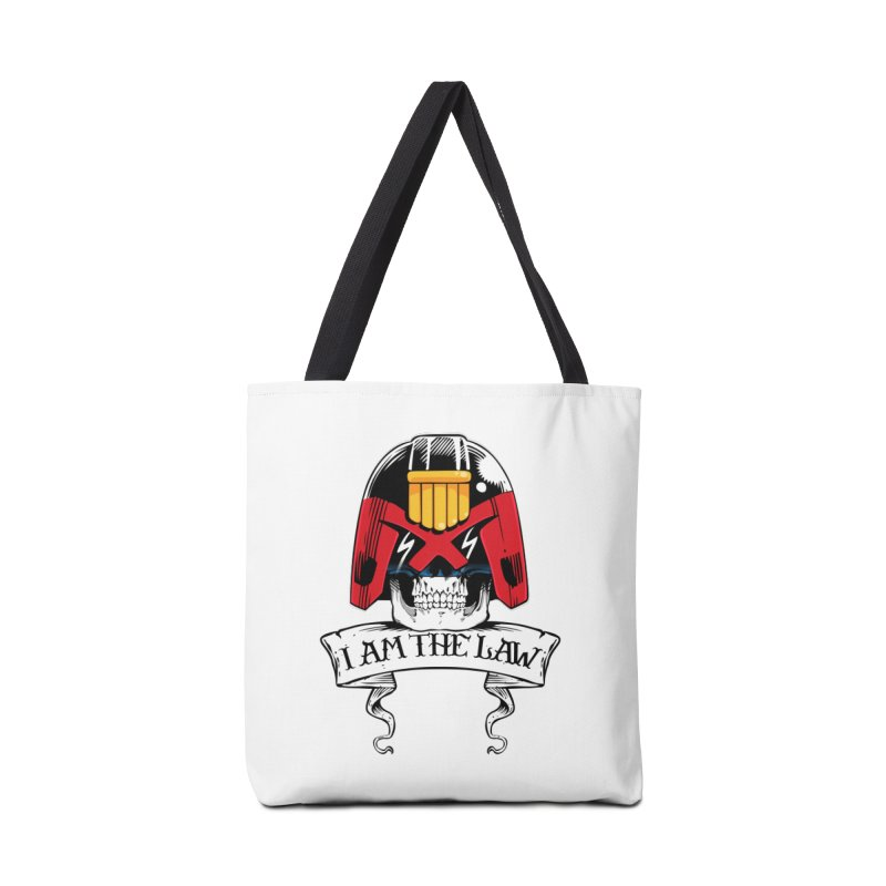I AM THE LAW Accessories Bag by D4N13L design & stuff