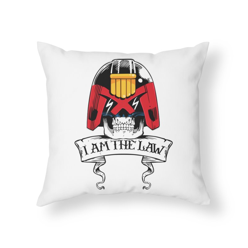 I AM THE LAW Home Throw Pillow by D4N13L design & stuff