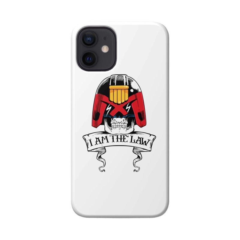 I AM THE LAW Accessories Phone Case by D4N13L design & stuff