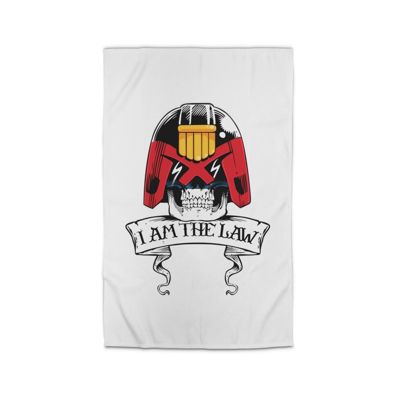 I AM THE LAW Home Rug by D4N13L design & stuff