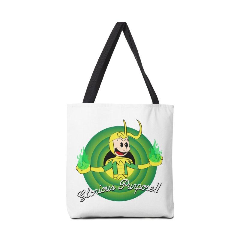 Glorious Purpose!! Accessories Bag by D4N13L design & stuff
