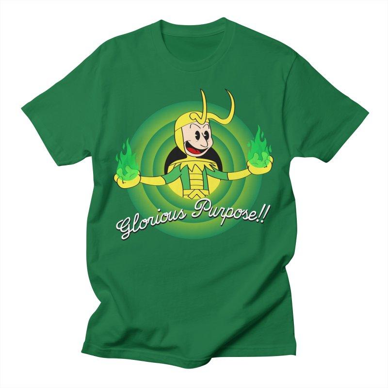 Glorious Purpose!! Men's T-Shirt by D4N13L design & stuff