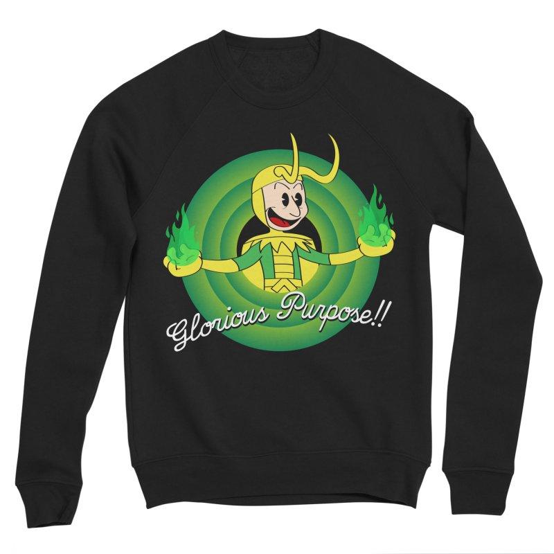 Glorious Purpose!! Men's Sweatshirt by D4N13L design & stuff