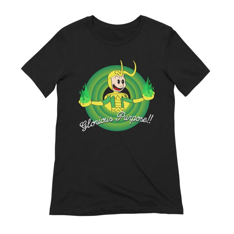 Glorious Purpose!! Women's T-Shirt by D4N13L design & stuff