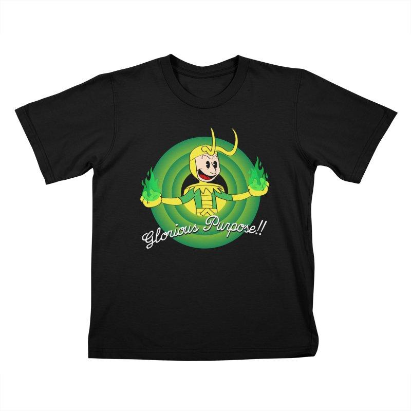 Glorious Purpose!! Kids T-Shirt by D4N13L design & stuff
