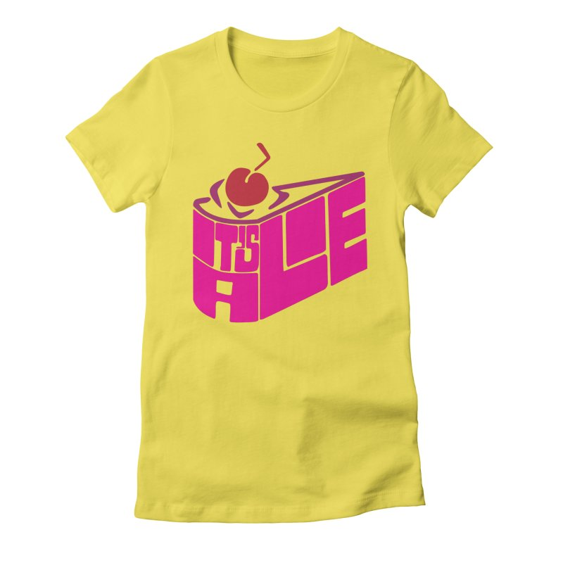 It's a lie Women's T-Shirt by D4N13L design & stuff