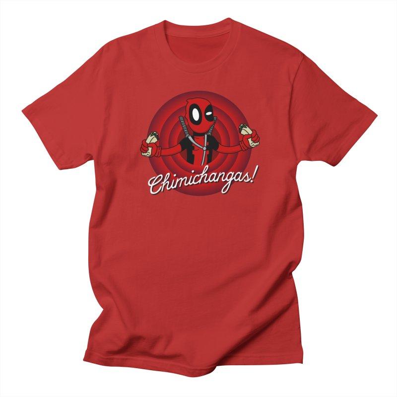 Chimichangas! Men's T-shirt by D4N13L design & stuff