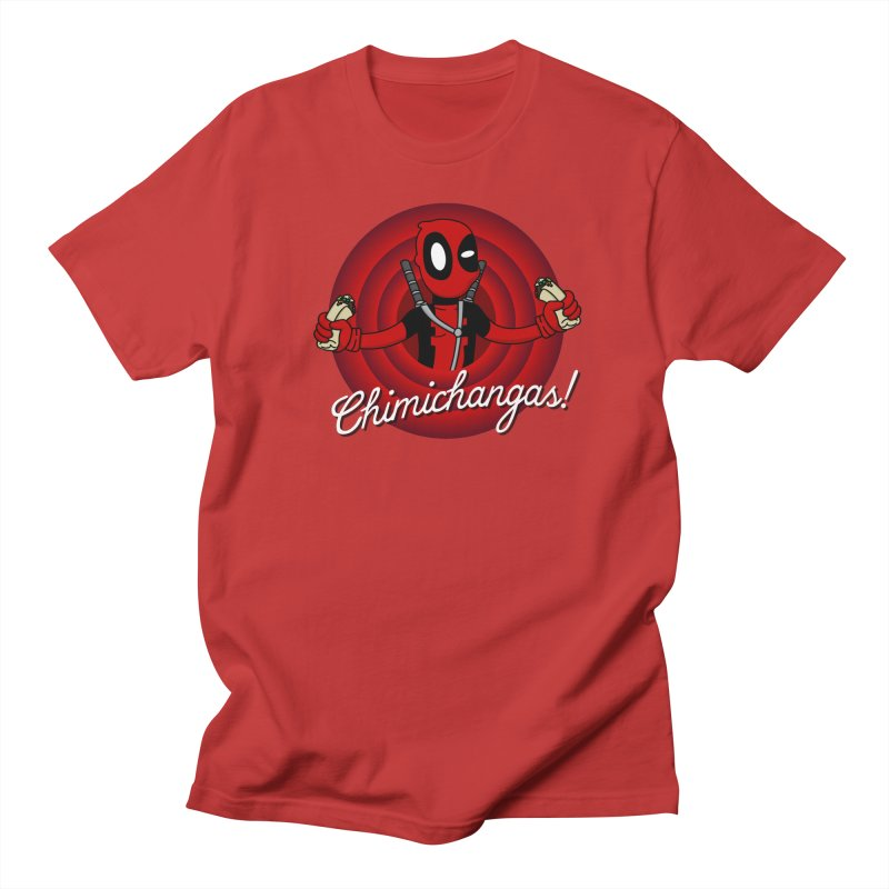 Chimichangas! Men's T-shirt by D4N13L design & stuff