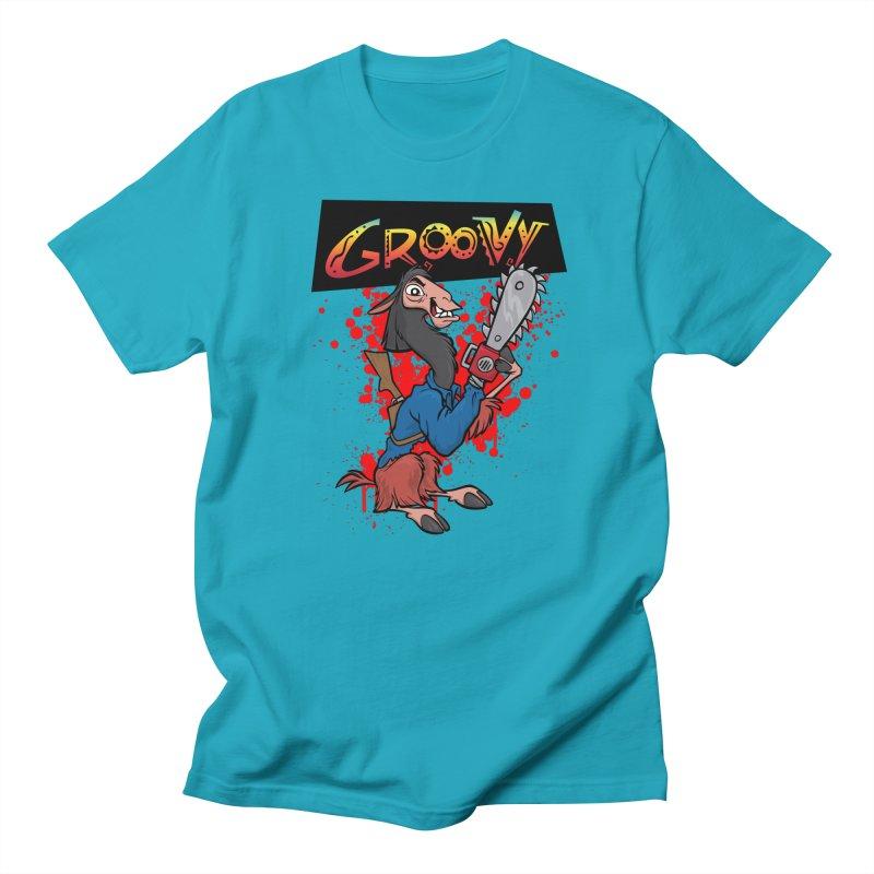 The Emperor's New Groovy Men's T-Shirt by D4N13L design & stuff
