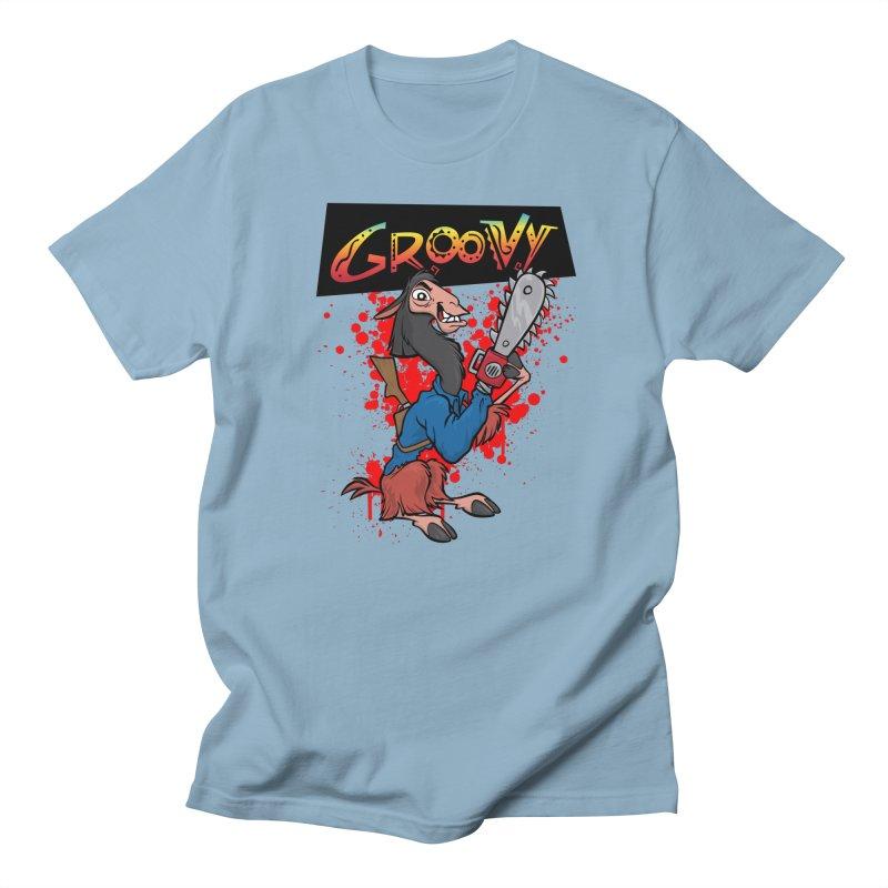 The Emperor's New Groovy Men's Regular T-Shirt by D4N13L design & stuff