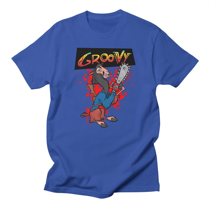 The Emperor's New Groovy Men's T-shirt by D4N13L design & stuff