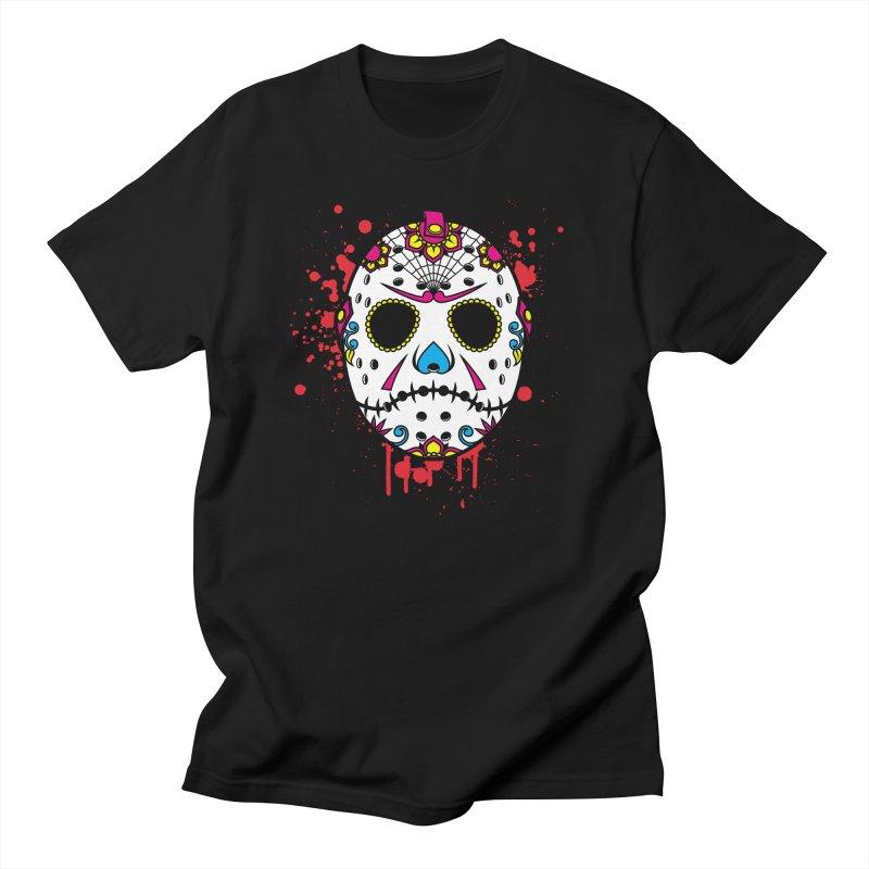 Dia de los Slashers Men's T-Shirt by D4N13L design & stuff