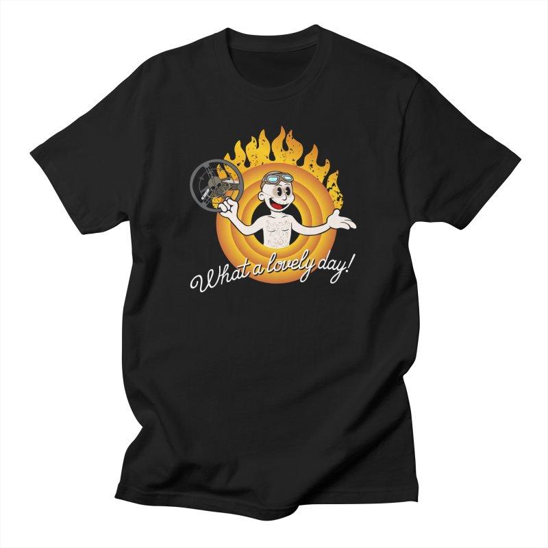 That's Nux folks! Men's T-Shirt by D4N13L design & stuff