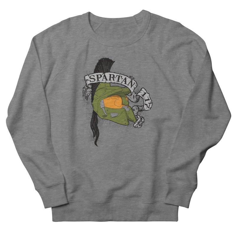 Spartan 117 Men's French Terry Sweatshirt by D4N13L design & stuff