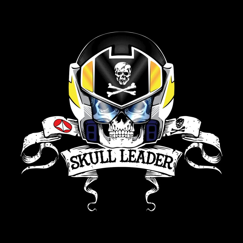 Skull Leader - Roy Focker Home Fine Art Print by D4N13L design & stuff