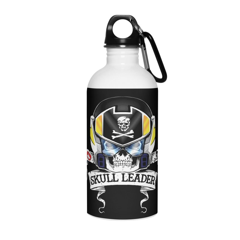 Skull Leader - Roy Focker Accessories Water Bottle by D4N13L design & stuff