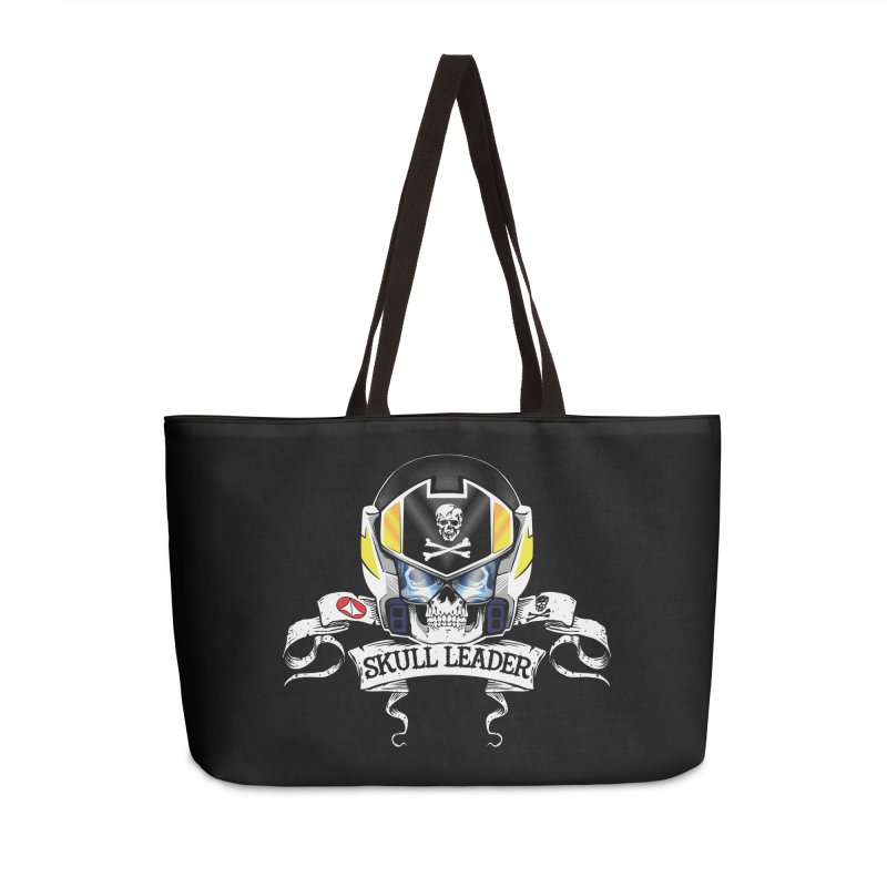 Skull Leader - Roy Focker Accessories Weekender Bag Bag by D4N13L design & stuff