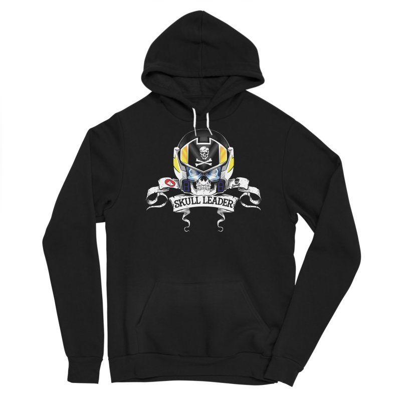 Skull Leader - Roy Focker Men's Sponge Fleece Pullover Hoody by D4N13L design & stuff