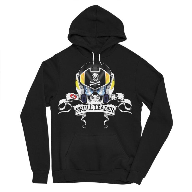 Skull Leader - Roy Focker Men's Sponge Fleece Pullover Hoody by D4N13L design & stuff