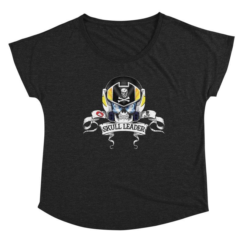 Skull Leader - Roy Focker Women's Dolman Scoop Neck by D4N13L design & stuff