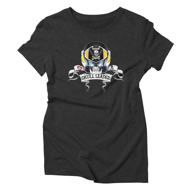 Skull Leader - Roy Focker Women's Triblend T-Shirt by D4N13L design & stuff