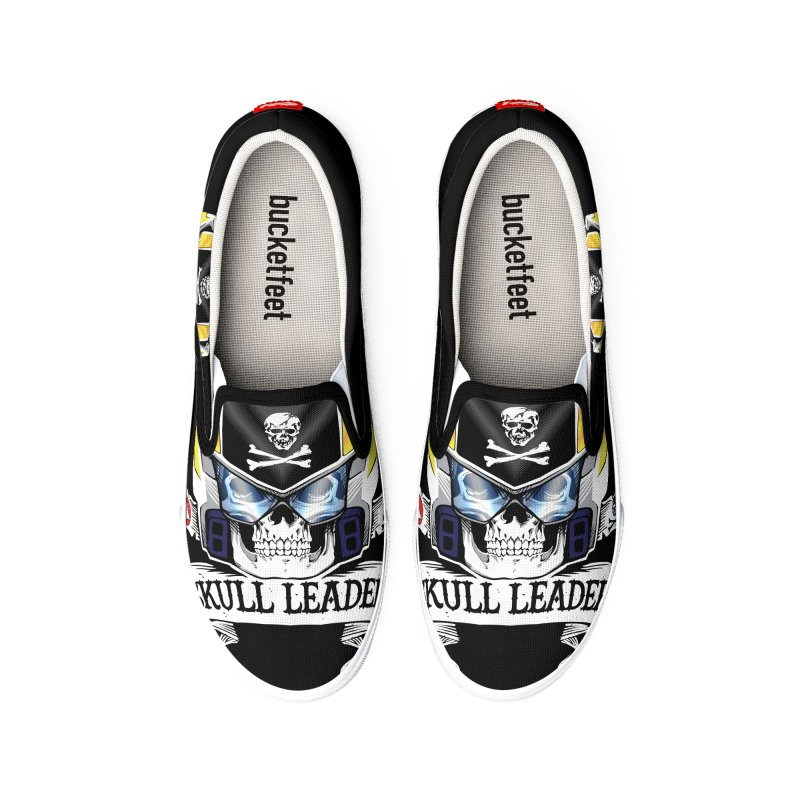 Skull Leader - Roy Focker Men's Shoes by D4N13L design & stuff