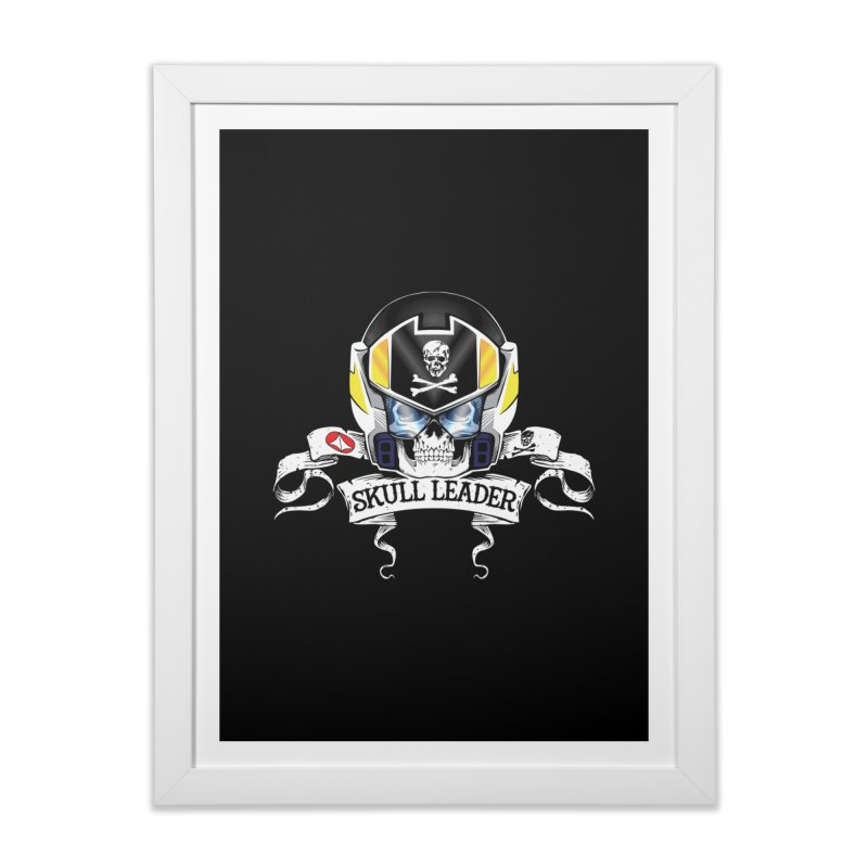 Skull Leader - Roy Focker Home Framed Fine Art Print by D4N13L design & stuff