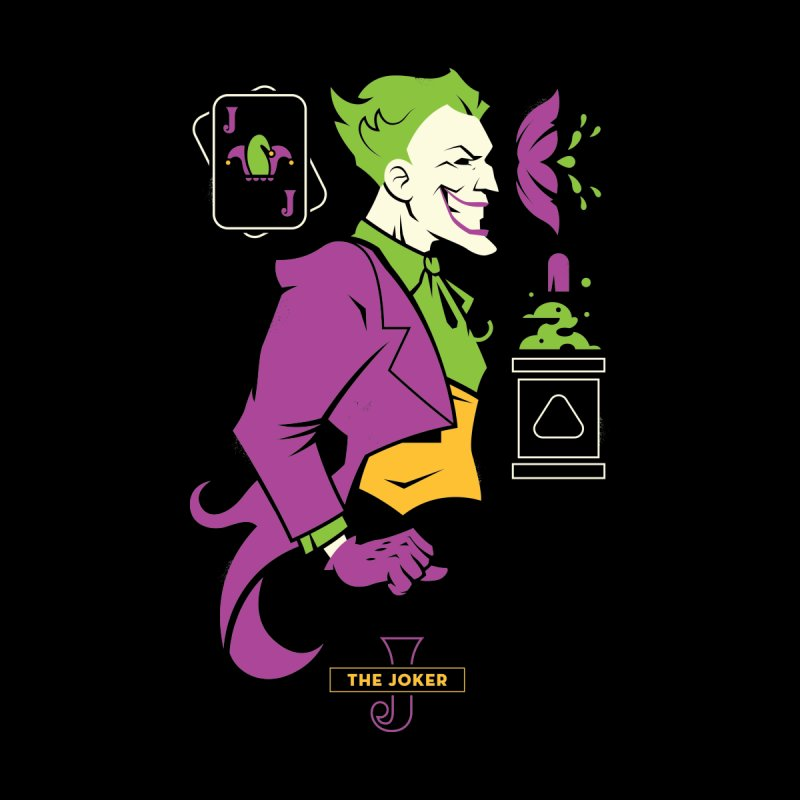 Joker - DC Superhero Profiles Men's T-Shirt by daab Creative's Artist Shop