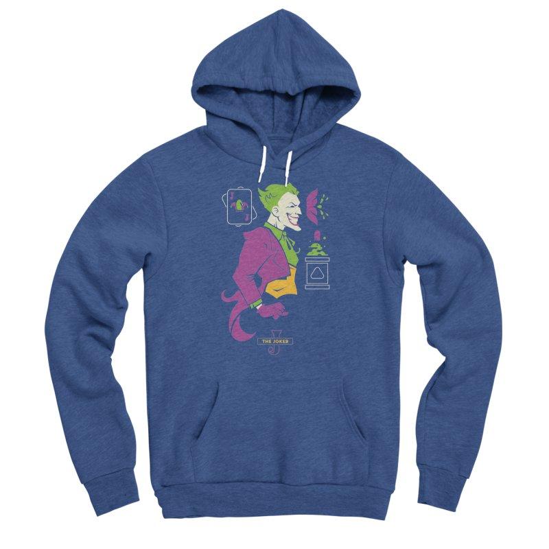 Joker - DC Superhero Profiles Men's Pullover Hoody by daab Creative's Artist Shop