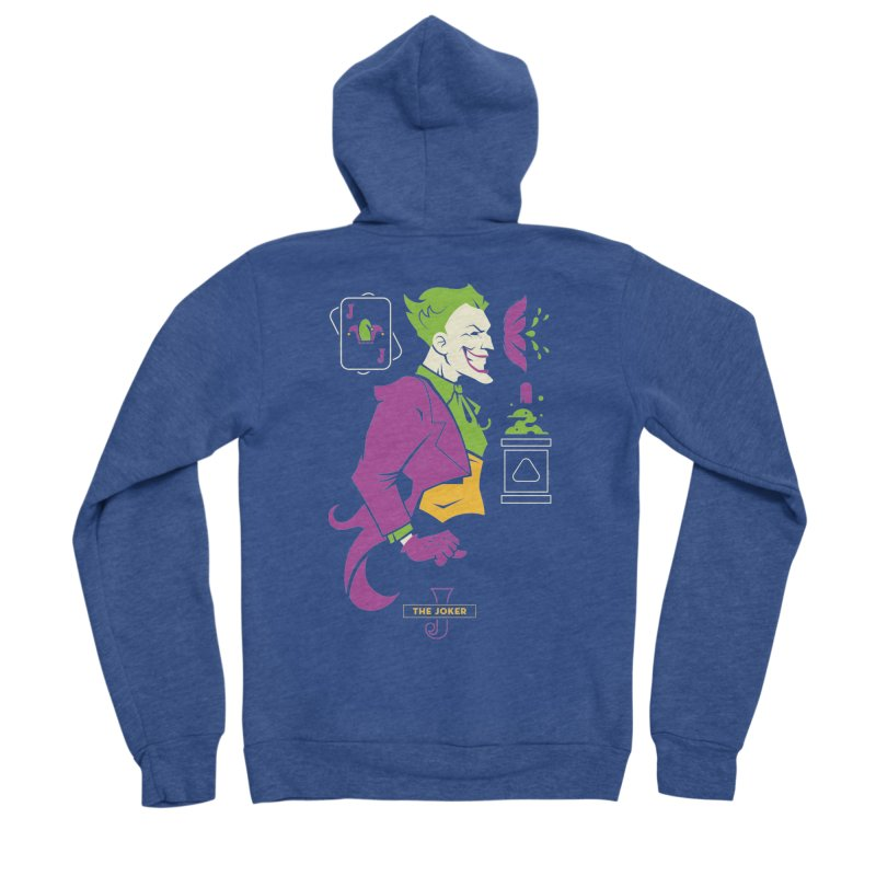 Joker - DC Superhero Profiles Women's Zip-Up Hoody by daab Creative's Artist Shop