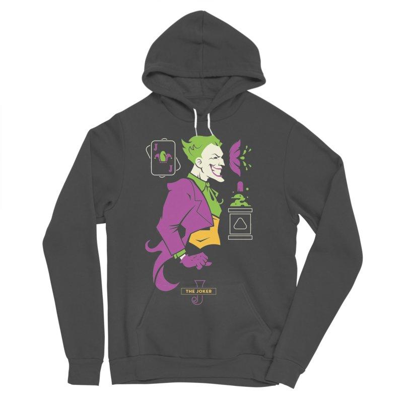 Joker - DC Superhero Profiles Women's Sponge Fleece Pullover Hoody by daab Creative's Artist Shop