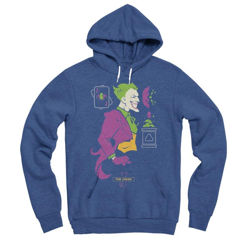 Joker - DC Superhero Profiles Men's Sponge Fleece Pullover Hoody by daab Creative's Artist Shop