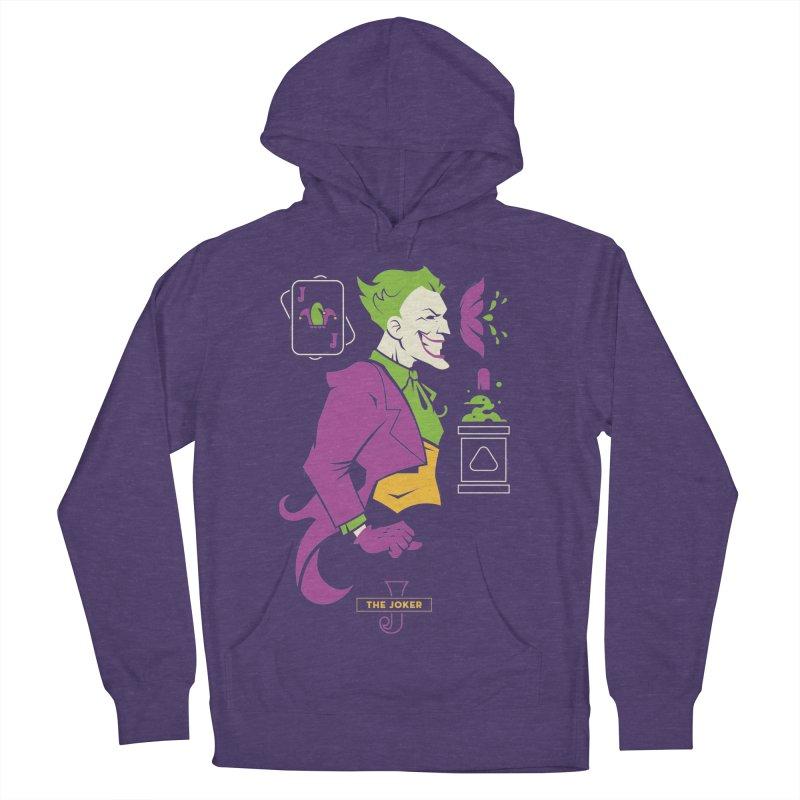 Joker - DC Superhero Profiles Women's French Terry Pullover Hoody by daab Creative's Artist Shop