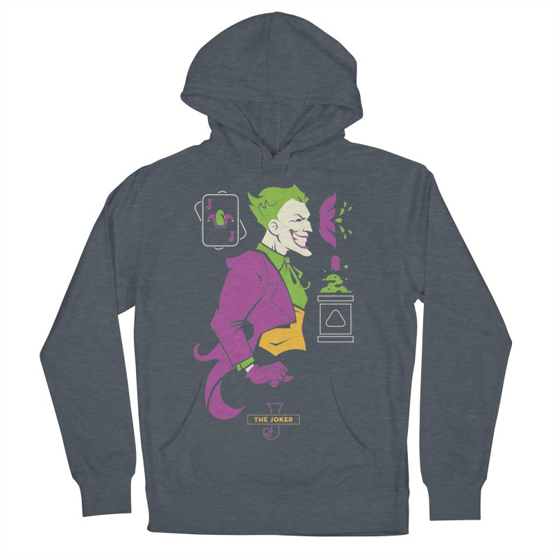 Joker - DC Superhero Profiles Men's French Terry Pullover Hoody by daab Creative's Artist Shop