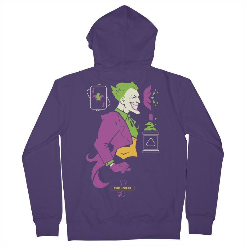 Joker - DC Superhero Profiles Women's Zip-Up Hoody by daab Creative's Artist Shop