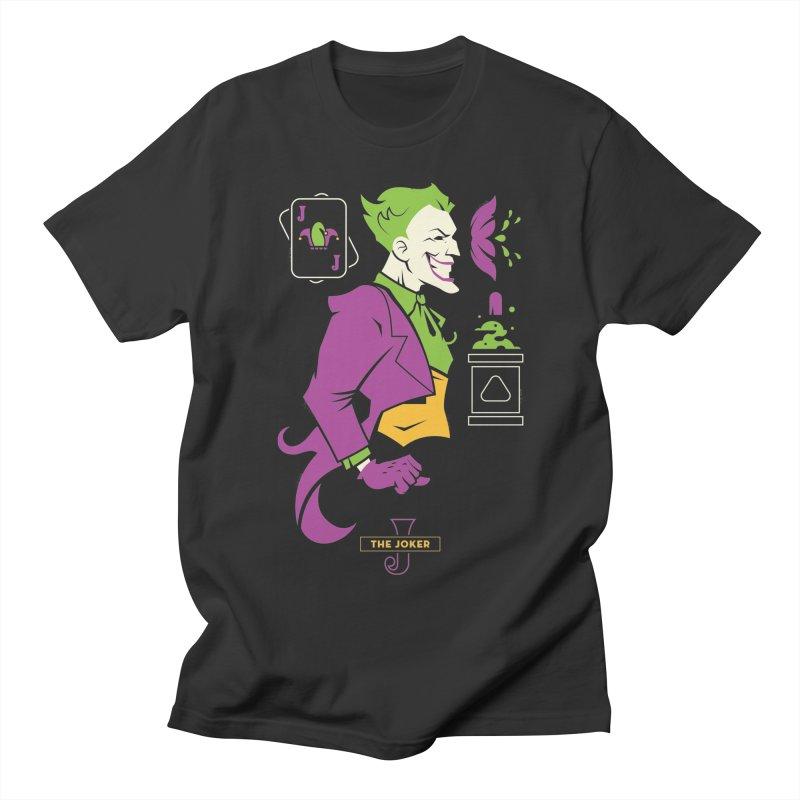 Joker - DC Superhero Profiles Women's Regular Unisex T-Shirt by daab Creative's Artist Shop