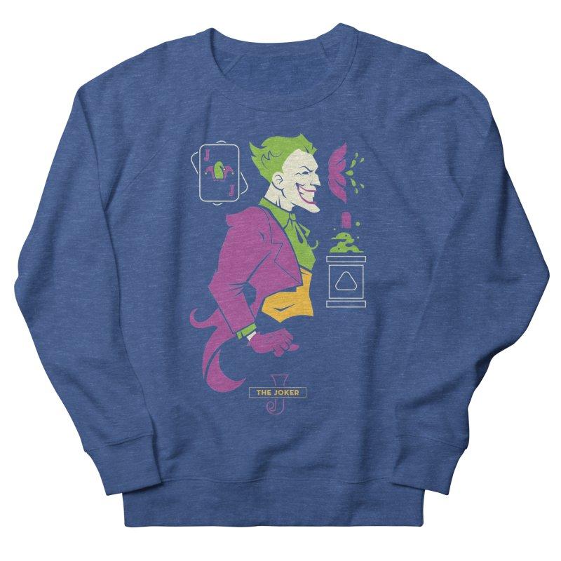 Joker - DC Superhero Profiles Men's Sweatshirt by daab Creative's Artist Shop