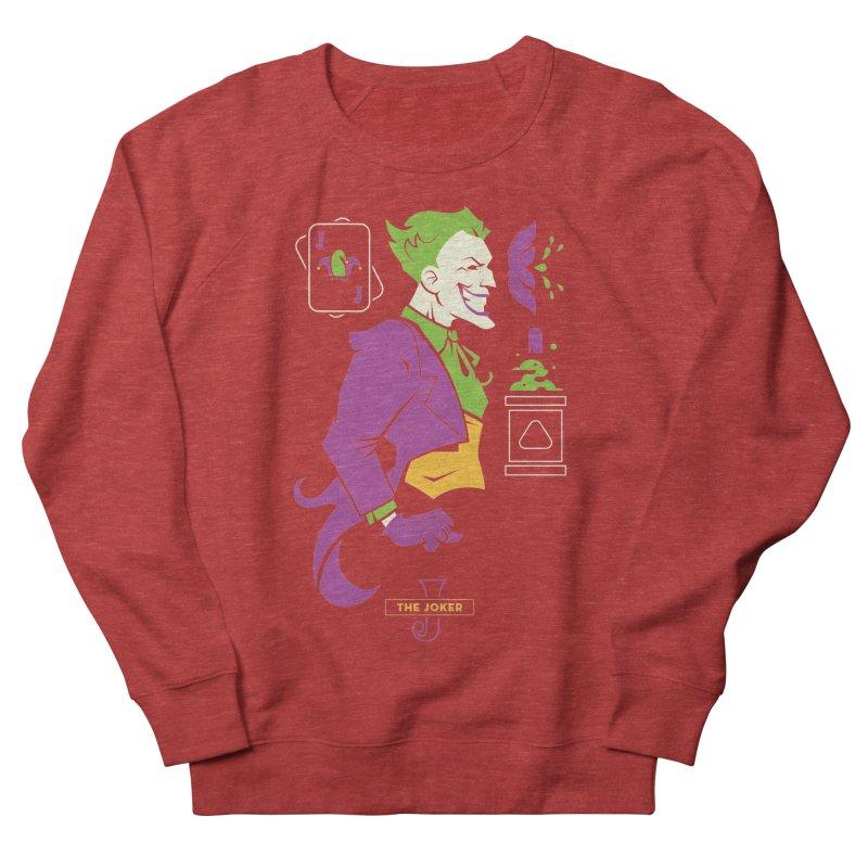 Joker - DC Superhero Profiles Men's French Terry Sweatshirt by daab Creative's Artist Shop