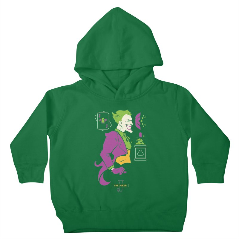 Joker - DC Superhero Profiles Kids Toddler Pullover Hoody by daab Creative's Artist Shop