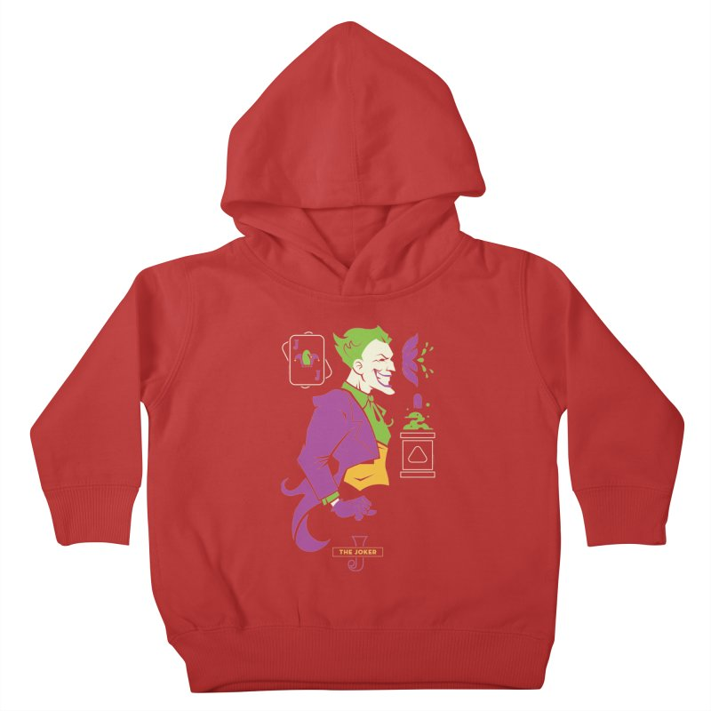 Joker - DC Superhero Profiles Kids Toddler Pullover Hoody by daab Creative's Artist Shop