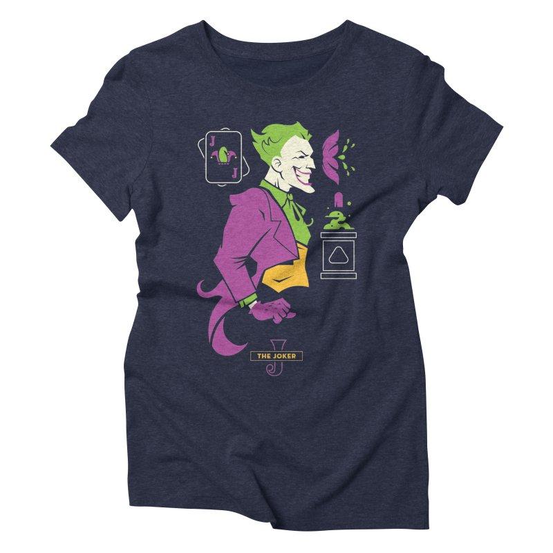 Joker - DC Superhero Profiles Women's T-Shirt by daab Creative's Artist Shop