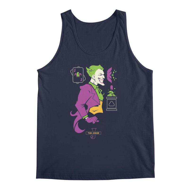 Joker - DC Superhero Profiles Men's Regular Tank by daab Creative's Artist Shop