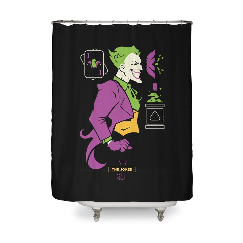 Joker - DC Superhero Profiles Home Shower Curtain by daab Creative's Artist Shop